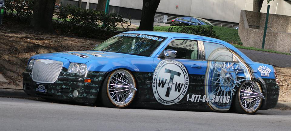 Texan Wire Wheels Slab Culture Car