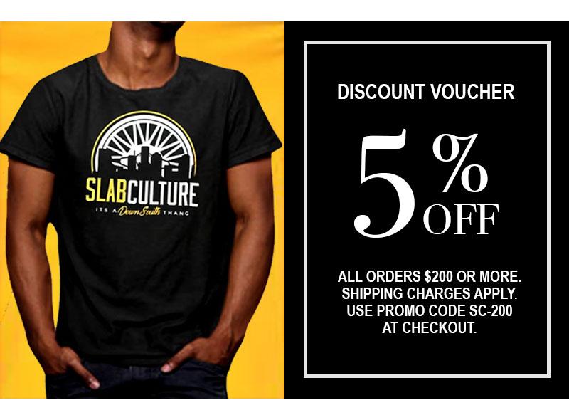 5% OFF All Slab Culture apparel